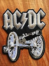 New Ac/dc Acdc Band DIY Applique Embroidered Sew Iron on Patch