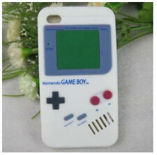 IPHONE 4 4S 4G 4GS GAMEBOY SILICON LUCK PHONE CASE GAME BOY COVER FOR APPLE NEW!
