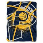 NBA Indiana Pacers Basketball Royal Plush Twin Size Blanket 60x80 Inches