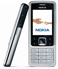Unlocked Nokia 6300 Mobile Phone Classic Phone MP3 Player GSM Silver