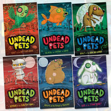 Sam Hay Undead Pets Collection 6 Books Set,Fight of the Battered Budgi,Brand New