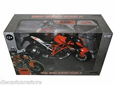 AUTOMAXX 2014 KTM SUPER DUKE R 1290 1/12 MOTORCYCLE NEW IN BOX 605101