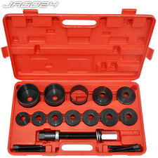 28pc Wheel Hub Drive Bearing Removal Installation Tool Kit Garage Mechanic Set