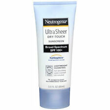 Sunscreen Neutrogena Ultra Sheer Dry-Touch SPF 100+ 3 oz Helioplex 2018 Lotion