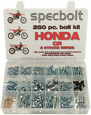 250pc Honda CR Bolt Kit 60 80 85 125 250 450 500 CR85 Expert Plastic body engine