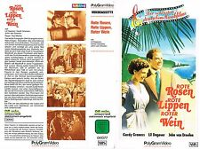 (VHS) Rote Rosen, rote Lippen, roter Wein - Gardy Granass, Lil Dagover (1953)