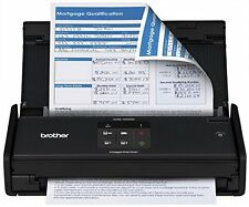 Brother ADS1000W Compact Color Desktop Scanner with Duplex and Wireless Netwo...