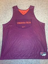 Nike Virginia Tech Hokies Basketball #0 Reversible Practice Jersey *3XL*
