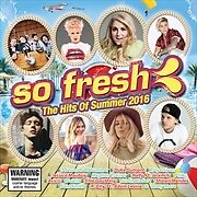 SO FRESH HITS OF SUMMER 2016 NEW SEALED REL27/11/2015