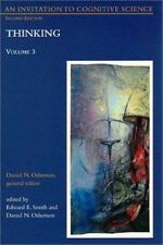 An Invitation to Cognitive Science - 2nd Edition: Vol. 3: Thinking-ExLibrary