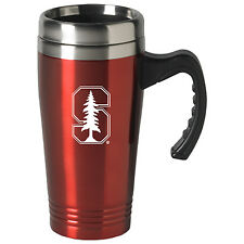 Stanford University-16 oz. Stainless Steel Mug-Red