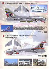 Print Scale Decals 1/72 L.T.V. A-7 CORSAIR II U.S. Navy Fighter Part 1