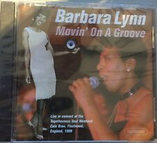 BARBARA LYNN - Movin' On A Groove CD NEW SOUL