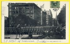 cpa Post Card Très Rare USA UNITED STATES NEW YORK in 1906 POLICE PARADE