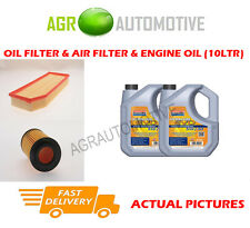 DIESEL OIL AIR FILTER + LL 5W30 OIL FOR MERCEDES-BENZ ML270 2.7 163 BHP 1999-05