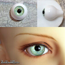 16mm Glitter light green full eyeball acrylic bjd doll eyes dollfie AE-44