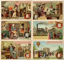 Chromo Liebig Sang. 273 ITA Invenzioni e Scoperte ANNO 1890