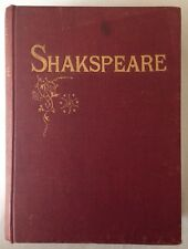 ✿ THE COMPLETE WORKS OF WILLIAM SHAKESPEARE PLAY NOTE BIOGRAPHY J.G.MURDOCH BOOK