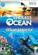 Endless Ocean: Blue World  --  Nintendo Wii Game Complete ***Guaranteed***