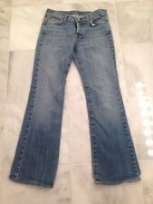 Womens 7 FOR ALL MANKIND Blue Boy Cut Jeans Size 31