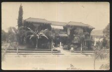 REAL PHOTO Postcard LOS ANGELES California/CA  Thelma Houston Family House/Home