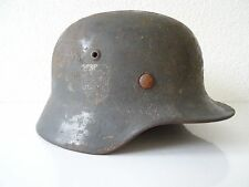 WW2 German M42 Original Luftwaffe Helmet Relic Battle Stalingrad Russia WK2 RARE