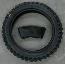 14 inch rear knobby tyre and tube, BIGFOOT Pit/Trail/Dirt Bike, 90/100-14, 14""