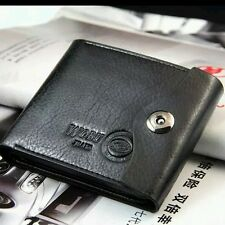 Brand New Leather Men Wallet Zipper Coin Card Holder
