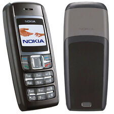 Nokia1600 Black Mobile Phone Refurbished.