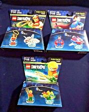 LEGO Dimensions Fun Pack  Aquaman 71237, Superman 71236, Wonder Woman 71209