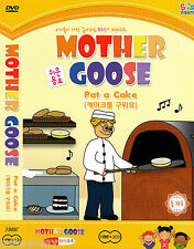 Mother Goose Club Educational 1 DVD & 2 CD set - Nursery Rhymes Songs (NEW) Yell