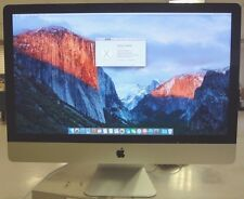 "Apple Late 2013 iMac A1419  27"" 3.4GHz Intel Core i5 12GB RAM, 1TB w/ power cord"