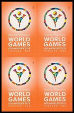 US 4986 Special Olympics World Games forever block MNH 2015