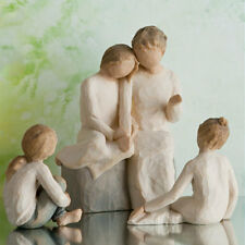 Willow Tree Grandmother with 3 Granddaughters Figurine Gift set - 23628