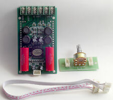t-amp digital amplifier, class T TA2024  Tripath stereo board 12V 2x15W + Poti