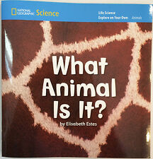 What Animal Is It?  National Geographic Science pack of 8 - Elisabeth Estes