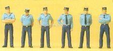 H0 Preiser 25108 Agents de police in uniforme de l'été. Figurine