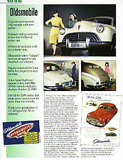 1946 Oldsmobile 98 + Sedan + Convertible Coupe Article - Must See !!