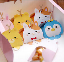 Baby Shower Candy Box, Cute Animal Chocolate Gift Party Favor Box, 20 pcs
