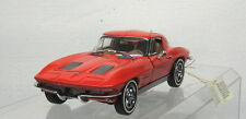 Franklin Mint - 1963 Red Corvette Sting Ray - Split Back Window Diecast 1:24