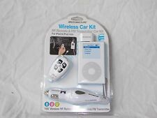 Scosche Wireless Car Kit with RF Remote & FM Transmitter for iPod & iPod Mini