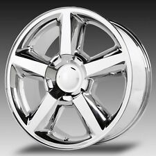4 NEW 20x8.5 Chevrolet LTZ Wheels Chrome OE Tahoe GMC