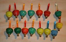 15 Bubbler Bubble Christmas Ornament Lights Noma Tested Working USA