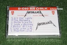 2015~METALLICA~NO LIFE TILL LEATHER~RSD CASSETTE~BRAND NEW~RECORD STORE DAY