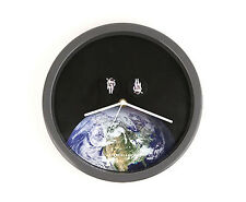 Astronauts In Space ~ Wall Clock with Spinning Astronauts by Kikkerland