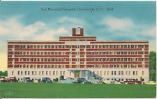 Self Memorial Hospital Greenwood SC Postcard