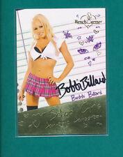2014 Benchwarmer BOBBI BILLARD SCHOOL GIRLS Autograph Card