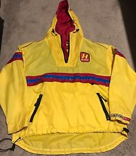 Vintage Rare Tommy Hilfiger Cycling Tour Jacket 90s Designer Fashion Hip Hop L