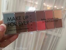 MAKE UP FOR EVER Professional 12 Flash Color Case Makeup Palette Face Eye 902