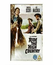 RIDE THE HIGH COUNTRY DVD SAM PECKINPAH RANDOLPH SCOTT JOEL MCCREA NEW SEALED UK